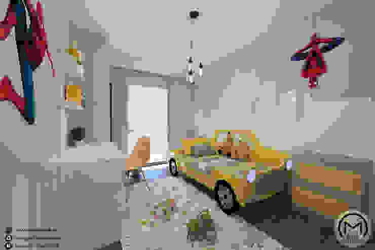 İdea Mimarlık Boys Bedroom Wood Yellow