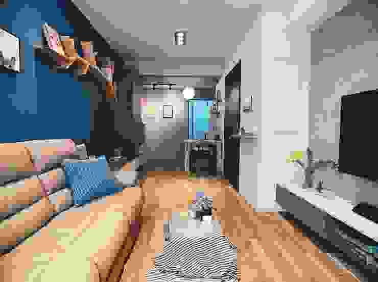 羅絲蒙特橡木: 鄉村  by KRONOTEX德國高能得思地板, 田園風 複合木地板 Transparent
