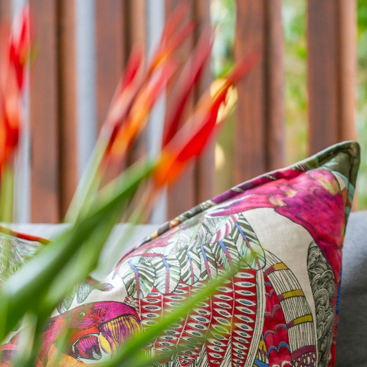 Alison Ross Photography Balkon, Beranda & Teras Modern