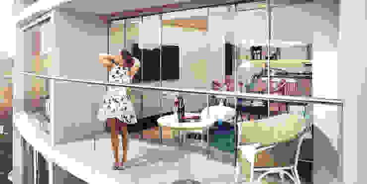 Balcon 2 | Edificio Solei de www.mwarq.com Moderno