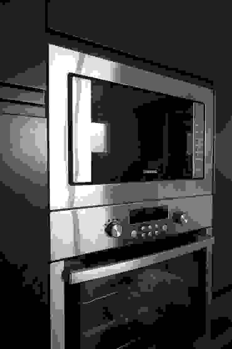 Agence ADI-HOME 系統廚具 刨花板 Black