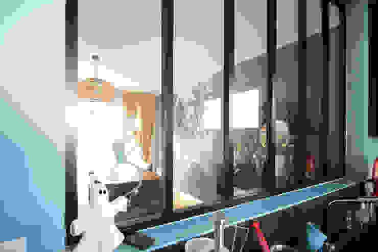 Agence ADI-HOME 置入式廚房 鋁箔/鋅 Black
