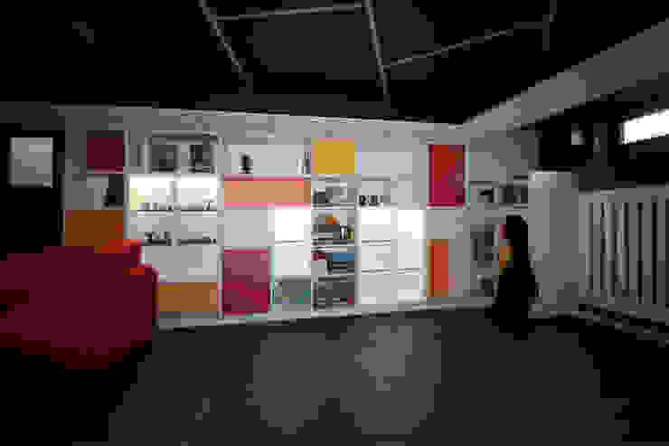 Agence ADI-HOME Salas multimedia de estilo moderno