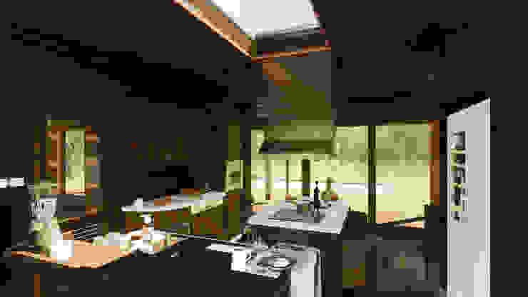COCINA de LiberonArquitectura Minimalista Madera Acabado en madera
