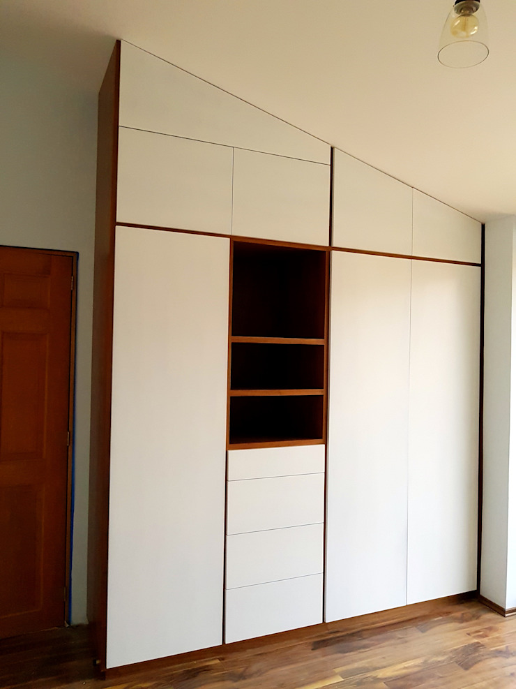 Amétrico Estudio Spogliatoio minimalista