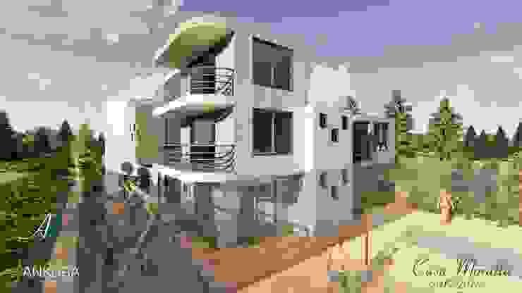 CASA MORATTA Casas modernas de ANKORA ARQUITECTOS Moderno