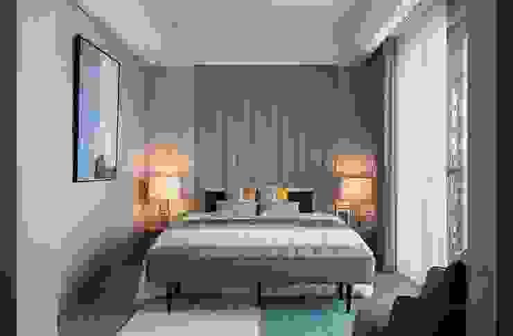 Minimalist bedroom by 伏見設計事業有限公司 Minimalist