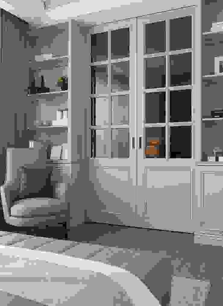 Minimalist dressing room by 伏見設計事業有限公司 Minimalist