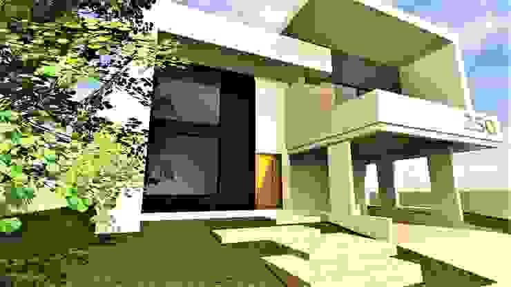 Arquitecto Eduardo Carrasquero Single family home Concrete White