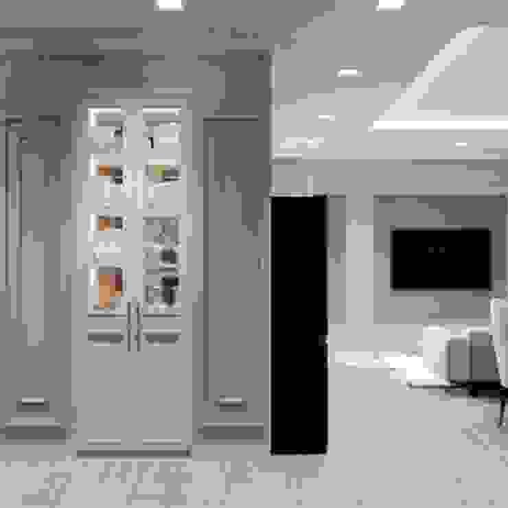 BELLEZA – Nơi tinh hoa của SG. Hành lang, sảnh & cầu thang phong cách hiện đại bởi Thiết kế nội thất ICONINTERIOR Hiện đại