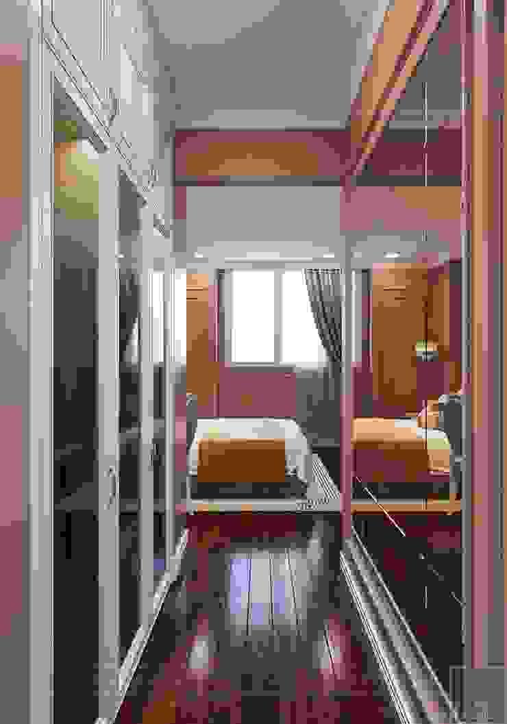 BELLEZA – Nơi tinh hoa của SG. Phòng ngủ phong cách hiện đại bởi Thiết kế nội thất ICONINTERIOR Hiện đại