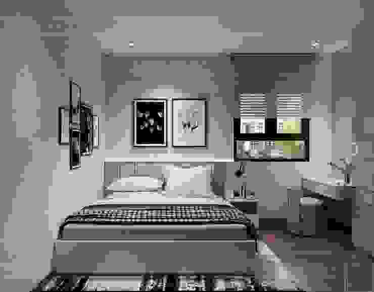 CityLand Park Hills -18 Phan Văn Trị Phòng ngủ phong cách hiện đại bởi Thiết kế nội thất ICONINTERIOR Hiện đại