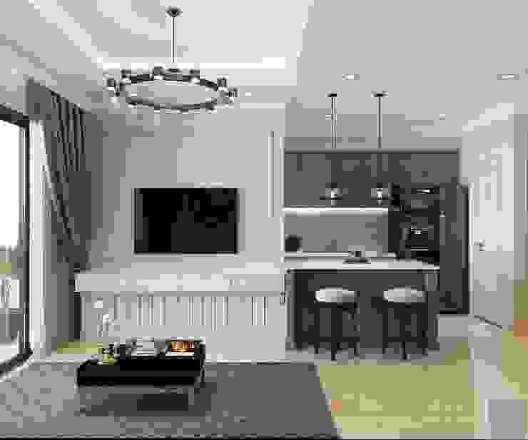Chung Cư Golden Mansion - 119 Phổ Quang, Phường 09, Phú Nhuận bởi Thiết kế nội thất ICONINTERIOR Hiện đại
