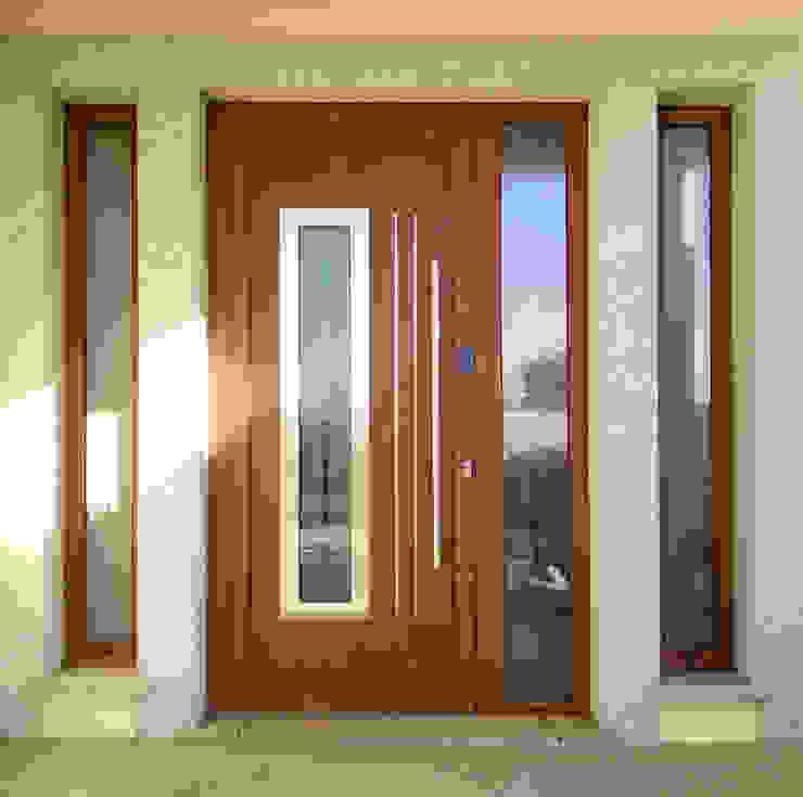 Indupanel Front doors Aluminium/Zinc Wood effect