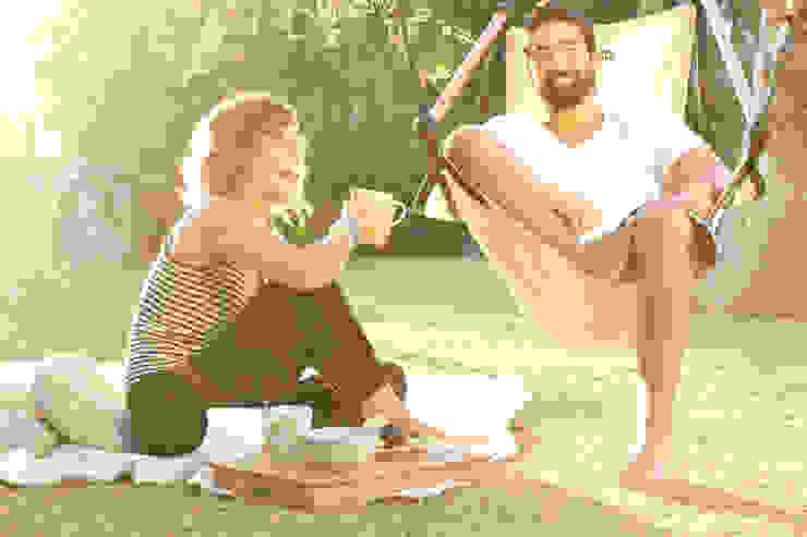 Hängesessel ONE wetterfest für Garten, Terrasse, Balkon oder Spa-Bereich Mediterraner Garten von CrazyChair Hängematten Mediterran