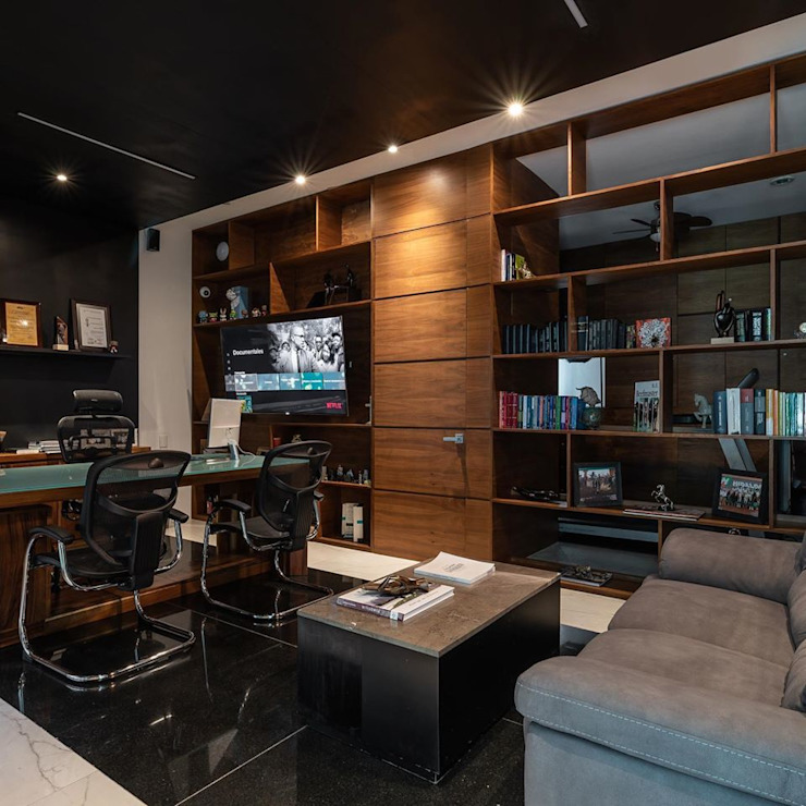 LUMINICA Iluminación Modern Study Room and Home Office