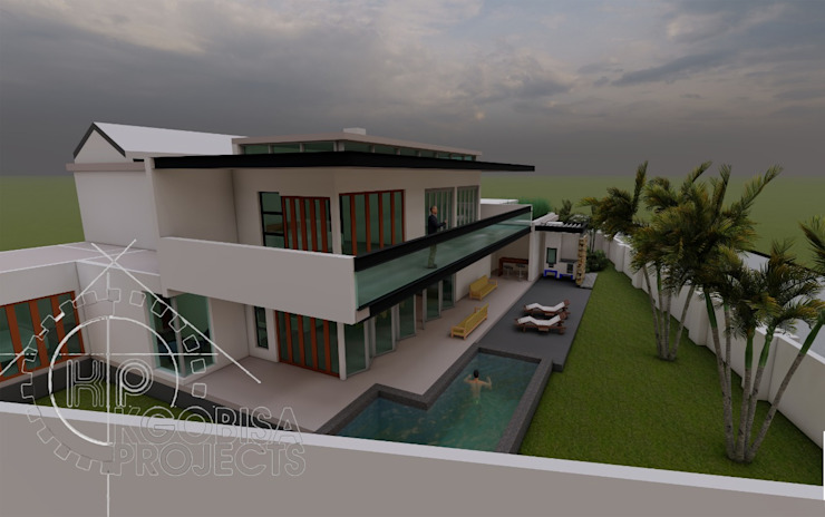 Concept Design - Golf Estate by KGOBISA PROJECTS