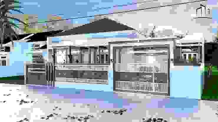 Konstruksi Rumah Pekanbaru <q>Free Easy Theme</q> Oleh INTERIAU LIVING Klasik