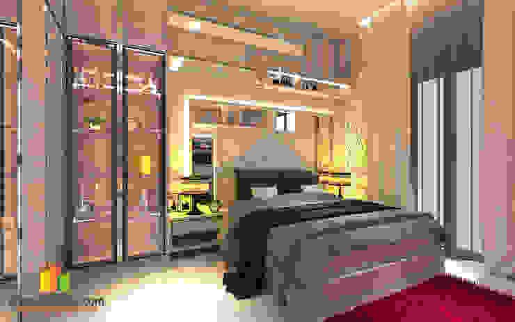 Master Bedroom Pekanbaru Oleh INTERIAU LIVING
