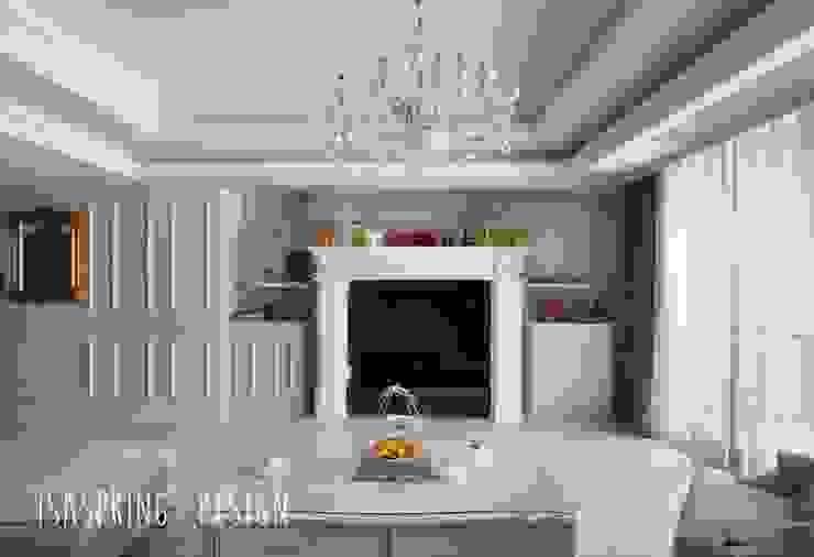 微風晨曦之宅 根據 伊境室內裝修設計有限公司 古典風 木頭 Wood effect