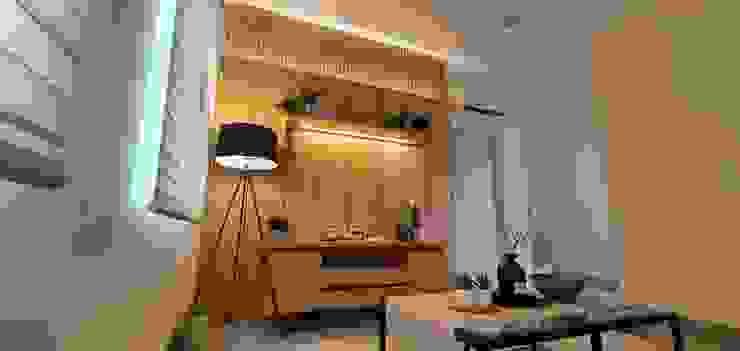 Green Lake City Private Residential Oleh Interior Kaka Permata Minimalis Kayu Lapis
