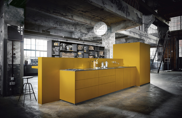 Spitzhüttl Home Company Dapur built in Yellow