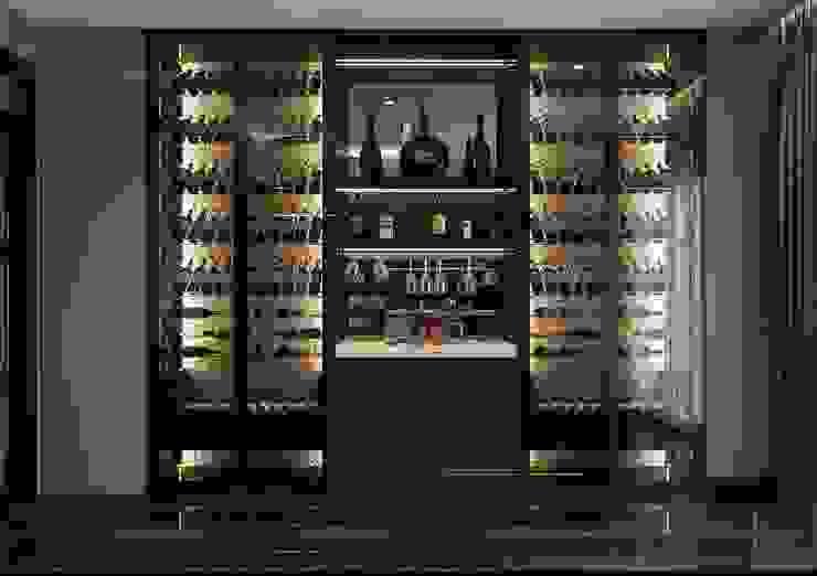 Modern Home Wine Cellar by Thiết kế nội thất ICONINTERIOR Modern