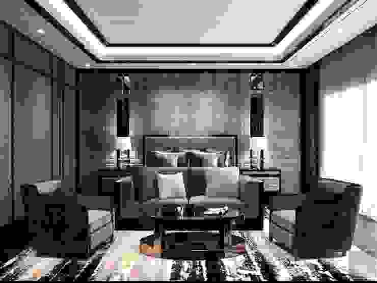 Modern Living Room by Thiết kế nội thất ICONINTERIOR Modern