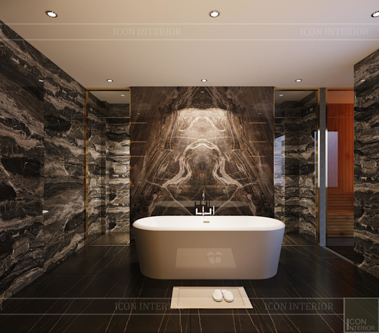 Modern Bathroom by Thiết kế nội thất ICONINTERIOR Modern