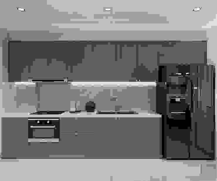 Modern Kitchen by Thiết kế nội thất ICONINTERIOR Modern