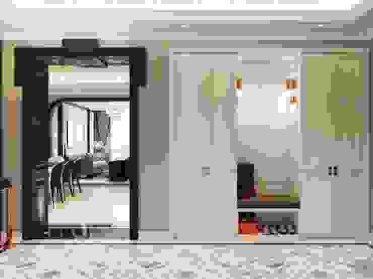 Opal tower - Thiết kế căn hộ Opal Tower giàu xúc cảm trong đường cong quyến rũ Thiết kế nội thất ICONINTERIOR Phòng khách