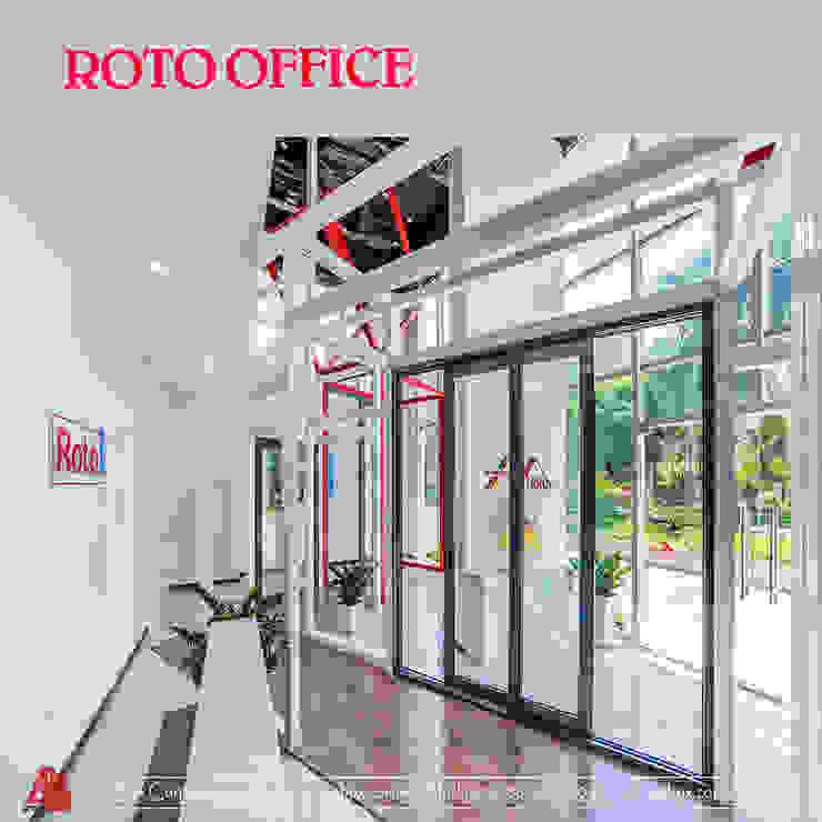 Thiết kế nội thất văn phòng Roto Phòng học/văn phòng phong cách hiện đại bởi ARTBOX Hiện đại Bê tông cốt thép