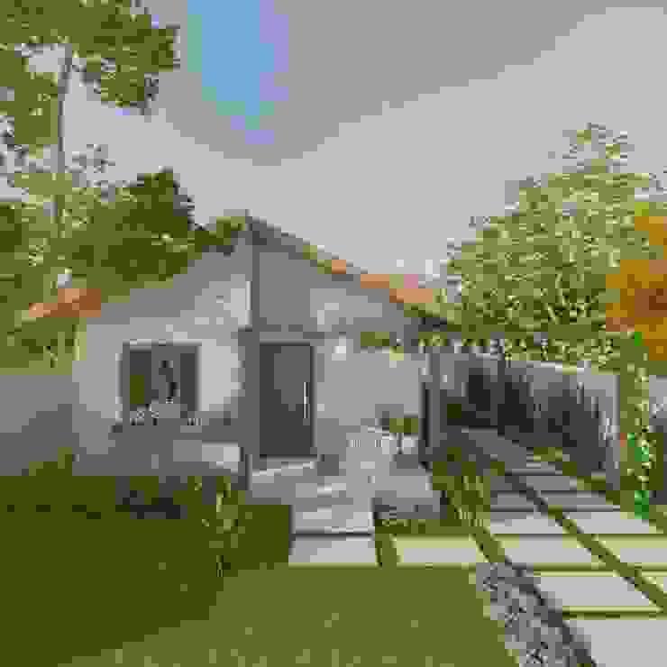 Cíntia Schirmer | arquiteta e urbanista Small houses Bricks Wood effect