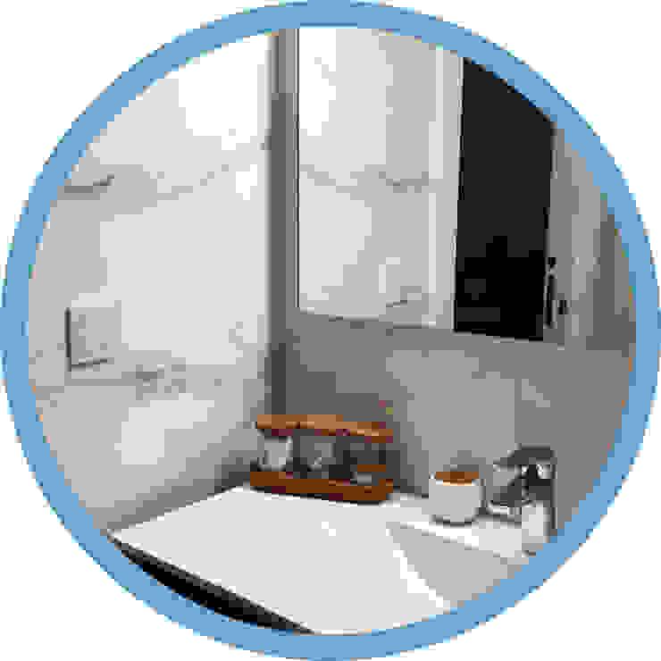 Indomotiq, Inmótica y Domótica (Zona norte) Modern style bathrooms