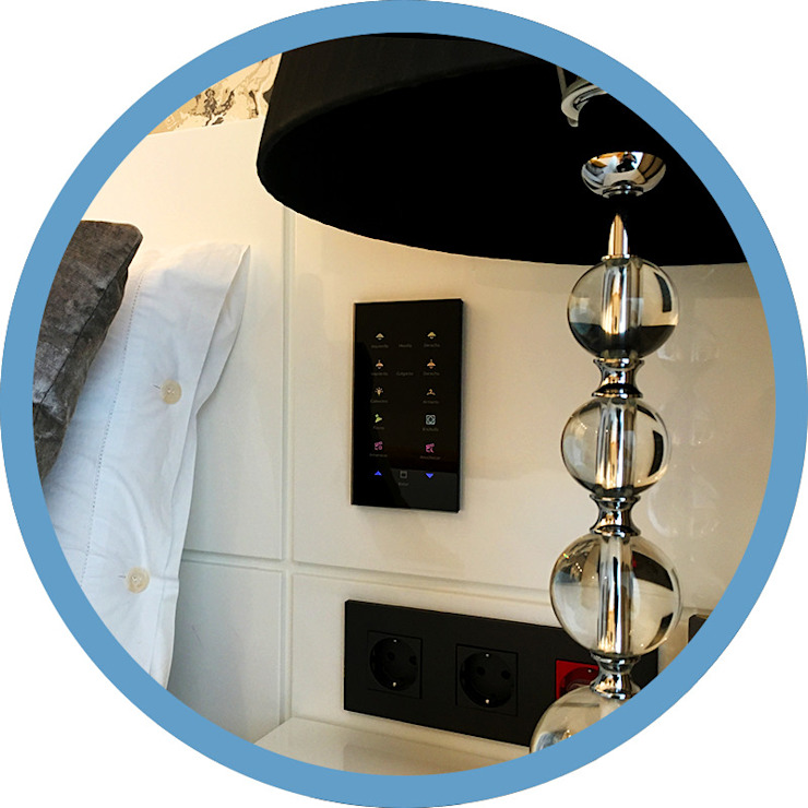 Indomotiq, Inmótica y Domótica (Zona norte) Modern style bedroom