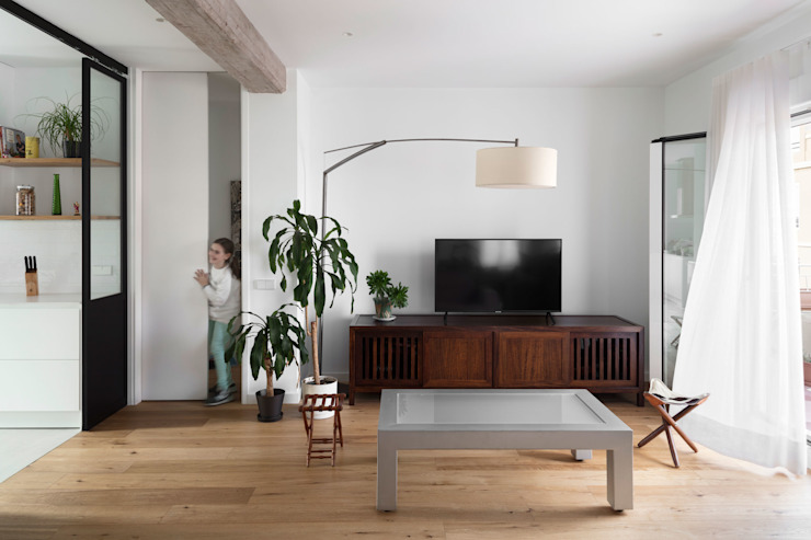 DonateCaballero Arquitectos Modern living room
