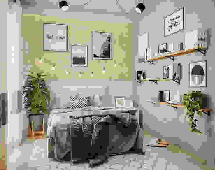 Yatak Odası Tasarımı2 İskandinav Yatak Odası FeyzaNurBozkurt İskandinav