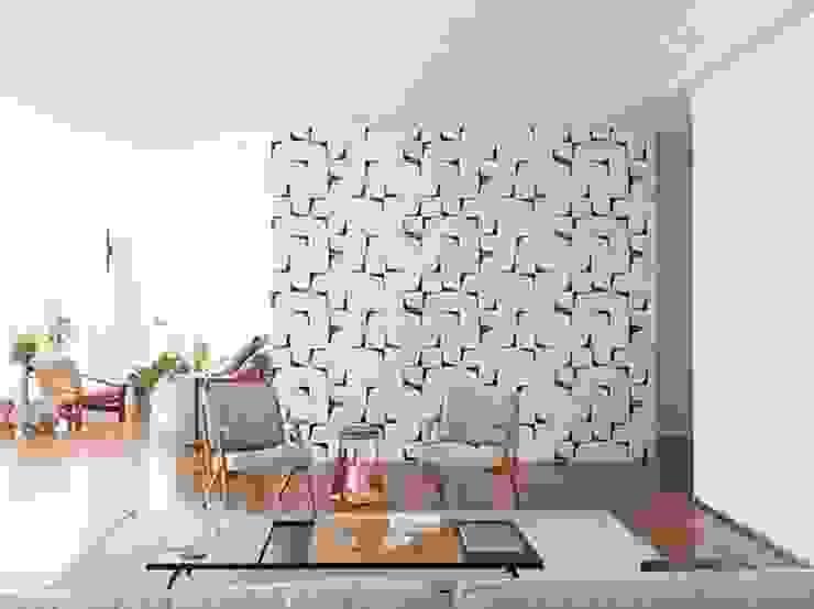 INÁ Arquitetura Salas/RecibidoresTaburetes y sillas