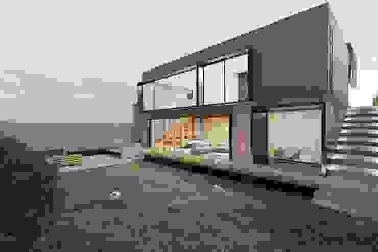 Fachada Trasera de Boom Taller de Arquitectura Moderno