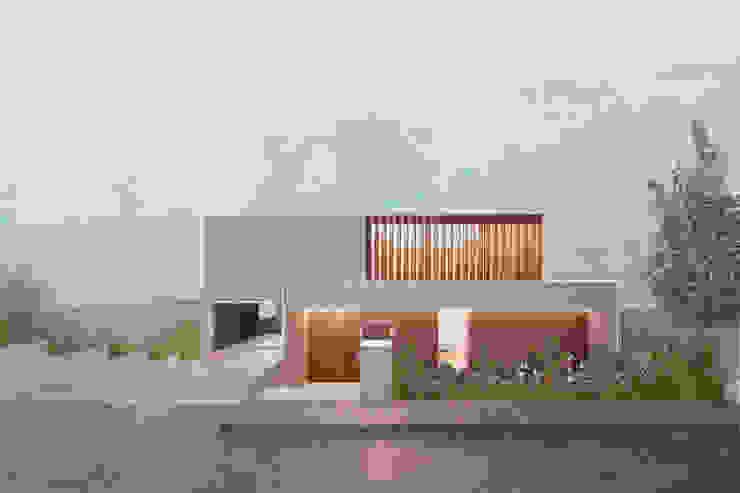 Fachada Frontal, técnica postproducción y collage de Boom Taller de Arquitectura Moderno