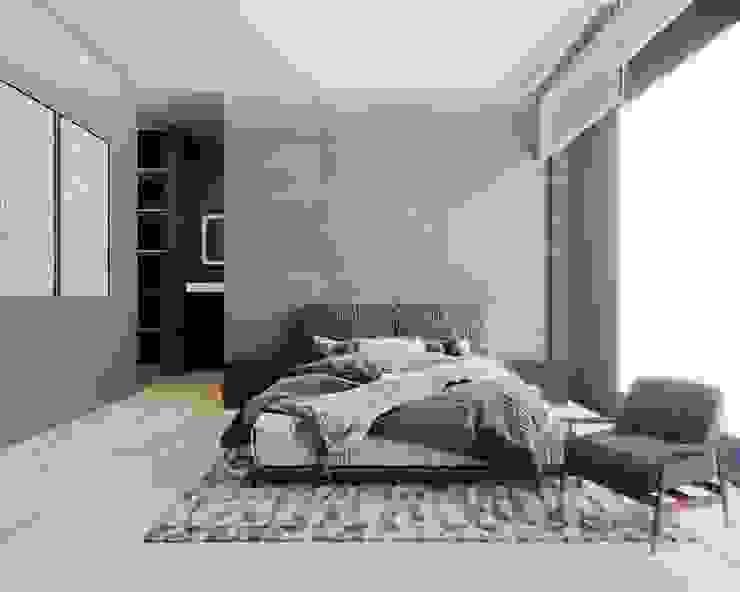 Recámara Principal Dormitorios modernos de Boom Taller de Arquitectura Moderno