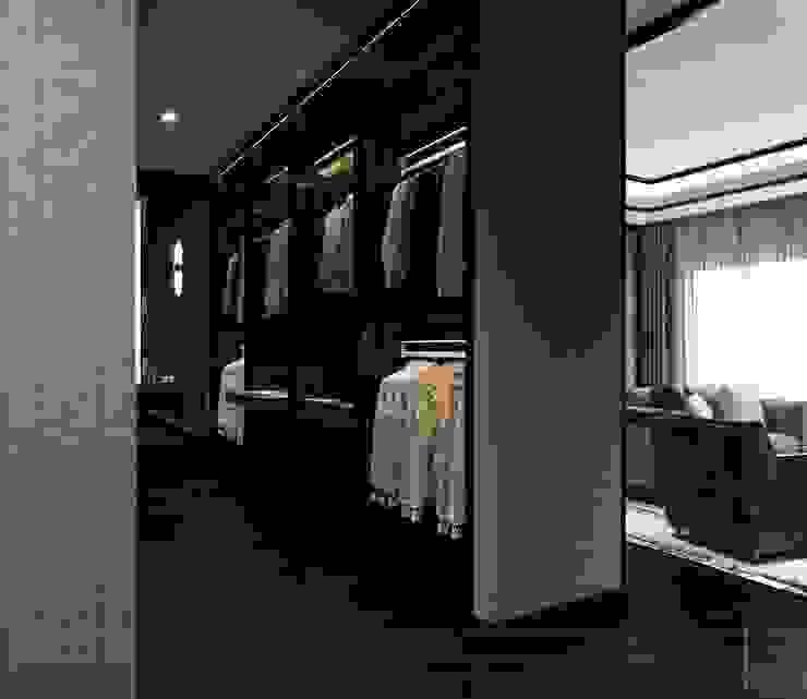 Thiết kế nội thất ICONINTERIOR Vestidores y placares de estilo moderno