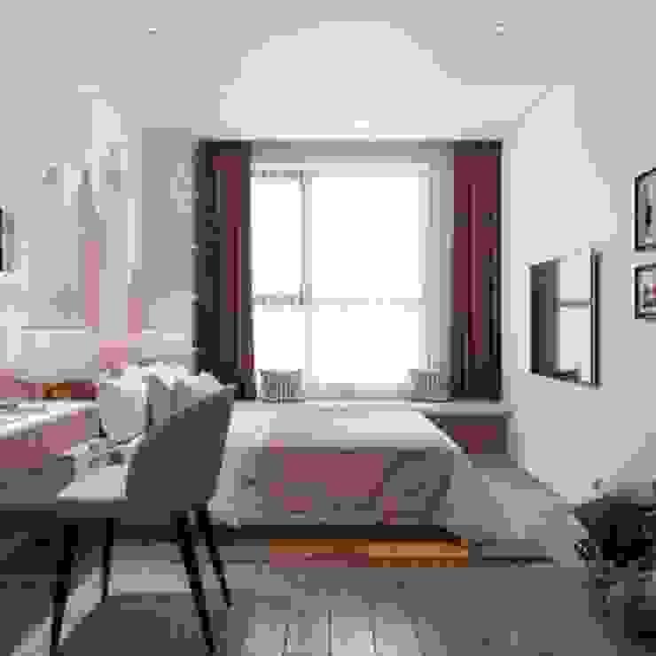 Bị thuyết phục bởi nét đẹp tinh tế trong thiết kế nội thất Palm Height Phòng ngủ phong cách hiện đại bởi Thiết kế nội thất ICONINTERIOR Hiện đại