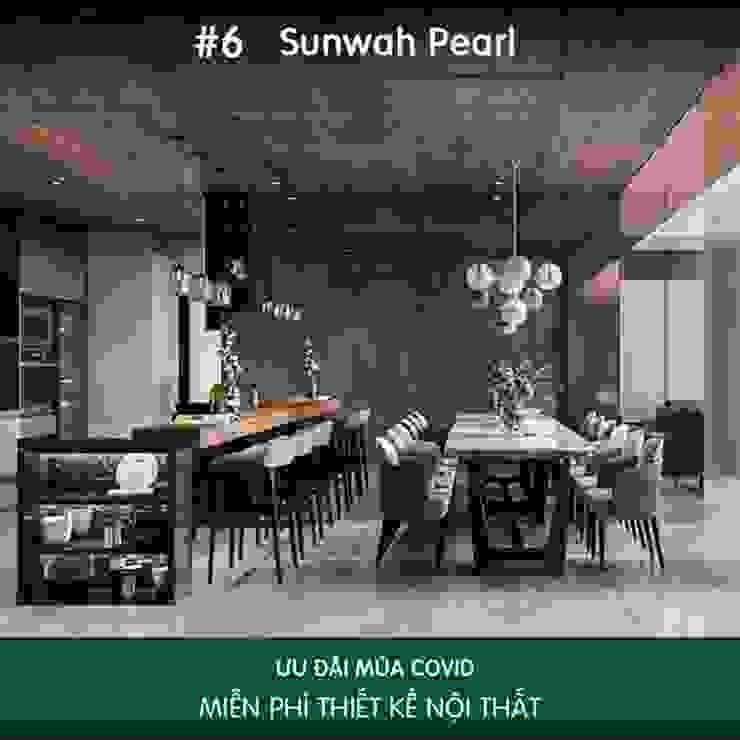 Bí mật phía sau hào quang của mẫu thiết kế nội thất Senturia Bình Chánh Thiết kế nội thất ICONINTERIOR Phòng ăn phong cách hiện đại