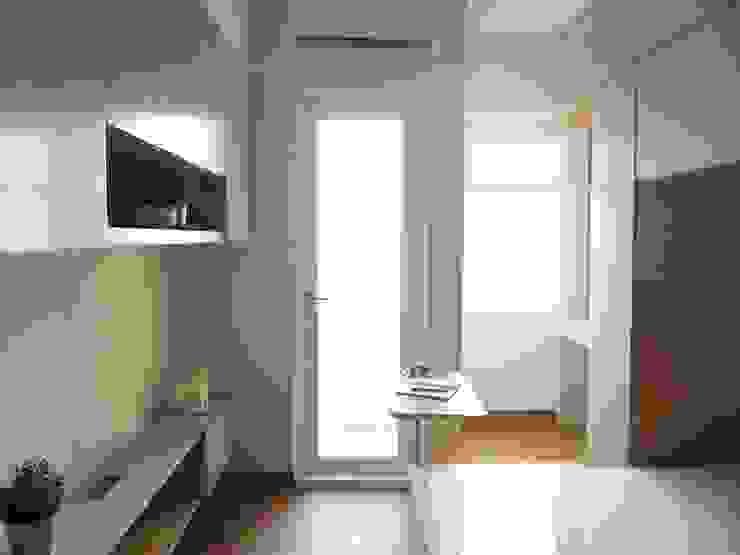 Springlake Apartemen Bekasi Oleh Interior Kaka Permata Minimalis Kayu Lapis