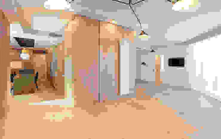 Vivienda calle Londres Salones de estilo moderno de ESTUDIO DE CREACIÓN JOSEP CANO, S.L. Moderno