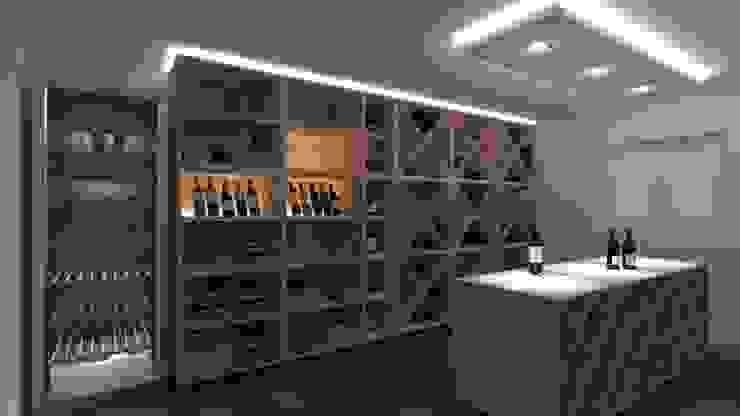 Weinkeller (Projekt 234) Karl Kaffenberger Architektur | Einrichtung Moderne Weinkeller
