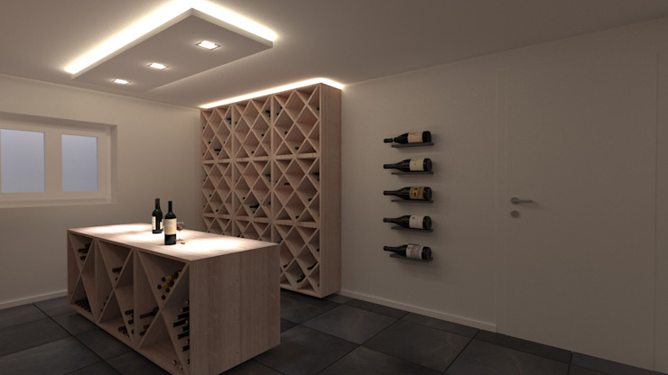 Weinkeller (Projekt 234) Karl Kaffenberger Architektur | Einrichtung Weinkeller