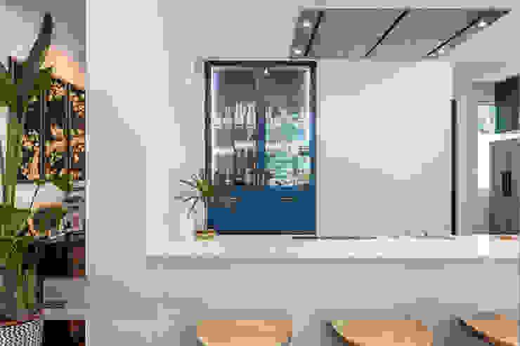 Modern Indochina Mediterranean style kitchen by Meter Square Pte Ltd Mediterranean Quartz
