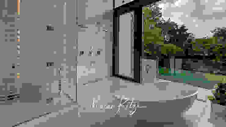 House Radomsky Modern bathroom by Malan Kotze Photography Modern